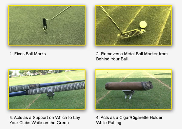 Golf Divot Repair Tool